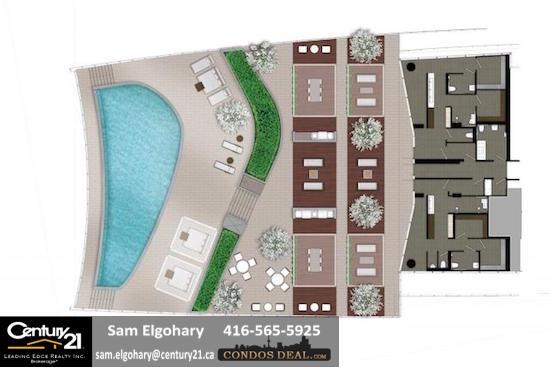 LAKESIDE Condos www.CondosDeal.com 15th floor amenities