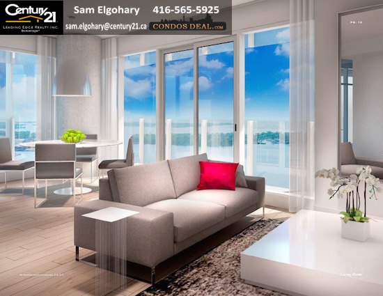 LAKESIDE Condos www.CondosDeal.com Living Room