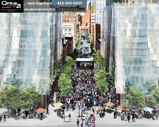 Mirvish+Gehry Toronto Condos Rendering 7
