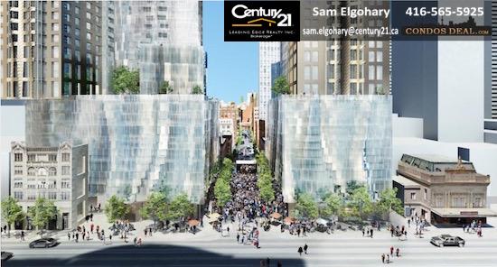 Mirvish+Gehry Toronto Condos Rendering 9