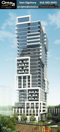 On The Park Condos Rendering Tower B