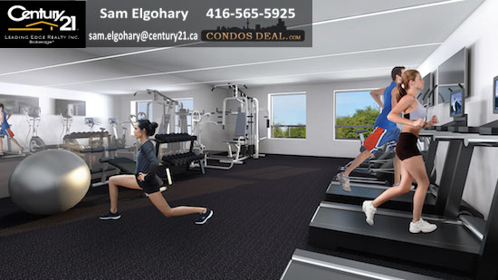 One Wellington Condos Gym
