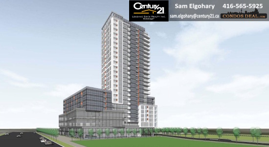 Cypress at Pinnacle Etobicoke Condos www.CondosDeal.com Rendering 3