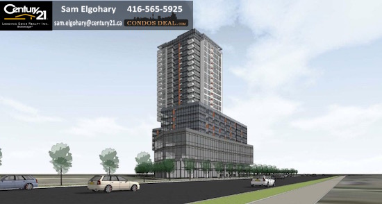 Cypress at Pinnacle Etobicoke Condos www.CondosDeal.com Rendering 4