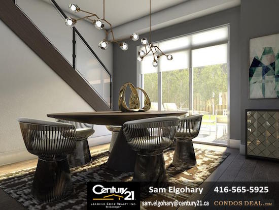 SQ 2 Condos Dining Room