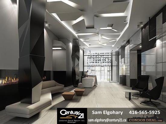 SQ 2 Condos Lobby & Concierge