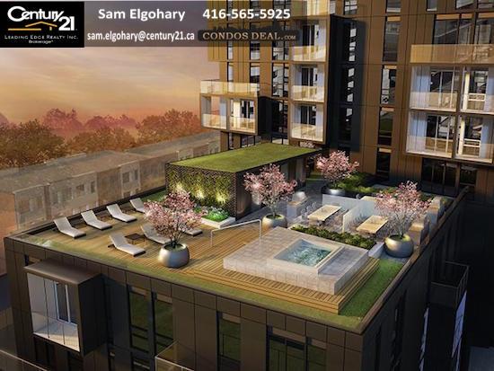 SQ 2 Condos Rooftop Terrace