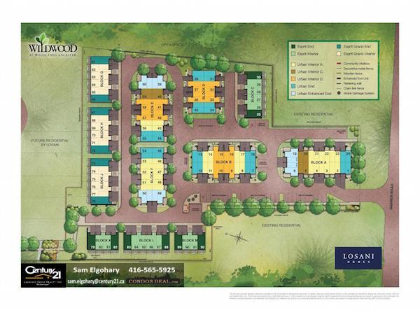Wildwood Towns Site Plan