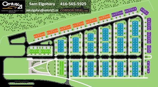 Woodbridge Park Towns Site Plan