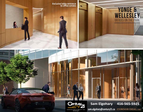 Yonge & Wellesley Offices On The Park office suites 2
