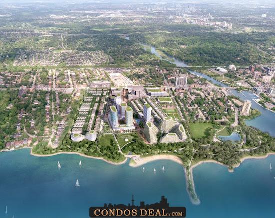 Brightwater Condos & Towns Rendering