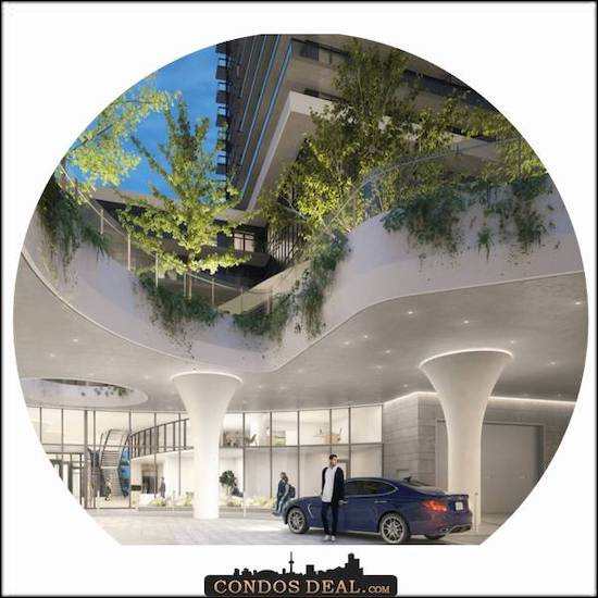 Canopy Towers Porte Cochere