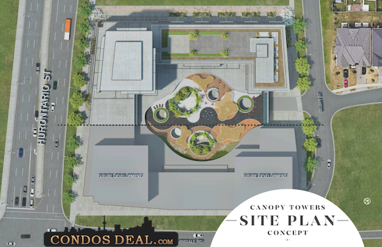 Canopy Towers Site Plan