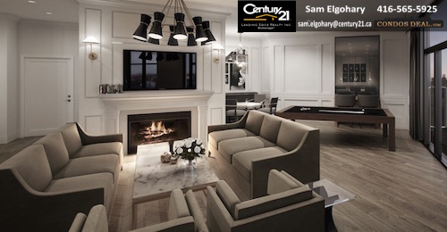 Caroline St. Private Residences entertainment lounge