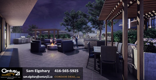 Caroline St. Private Residences outdoor terrace