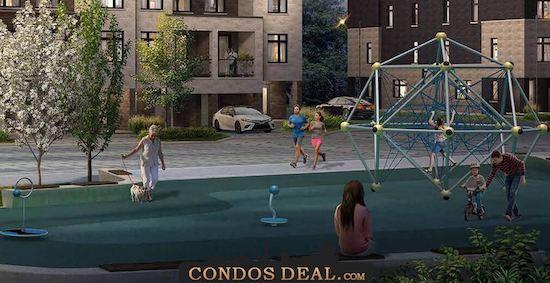 Citywalk Townhomes rendering 3