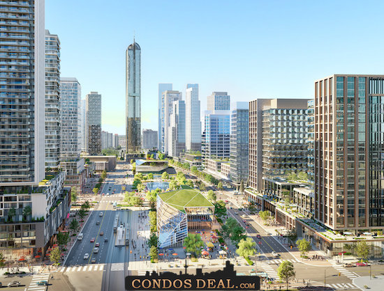 Condominiums at Square One District Rendering 3