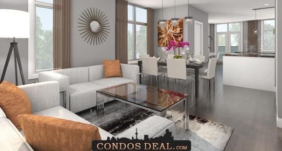 Crystal Garden Towns Living Room