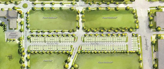Crystal Garden Towns Site Plan