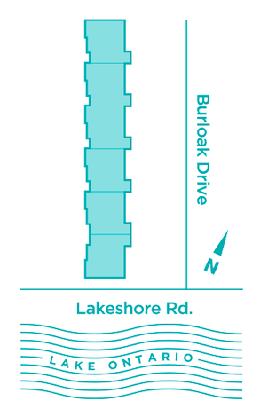 Curate Towns By the Lake Map