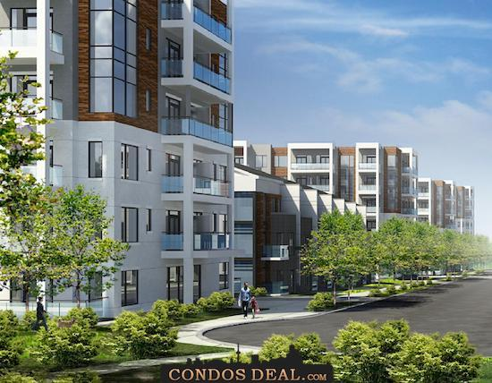 Daniels FirstHome Keelesdale Condos & Towns Rendering 3