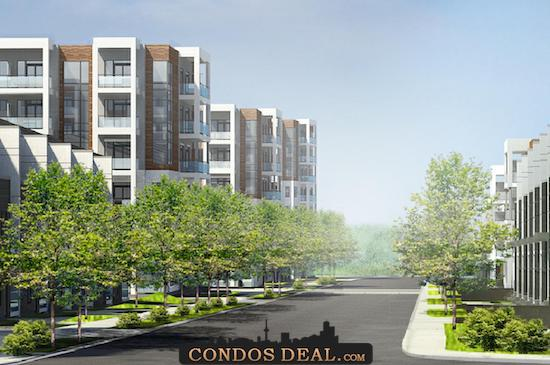 Daniels FirstHome Keelesdale Condos & Towns Rendering 4