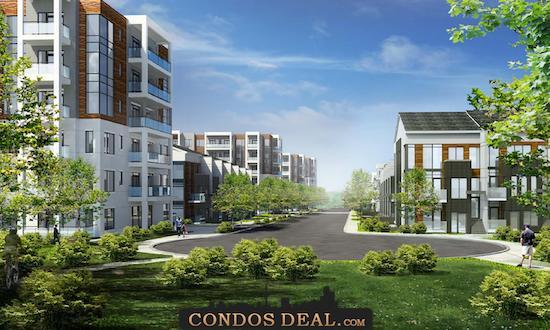 Daniels FirstHome Keelesdale Condos & Towns Rendering