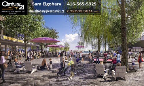 Daniels Waterfront Consos- Sugar Beach North Rendering