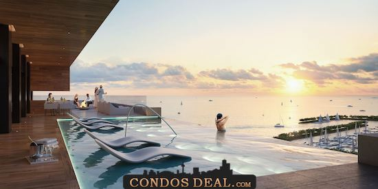 Debut Waterfront Residences Pool