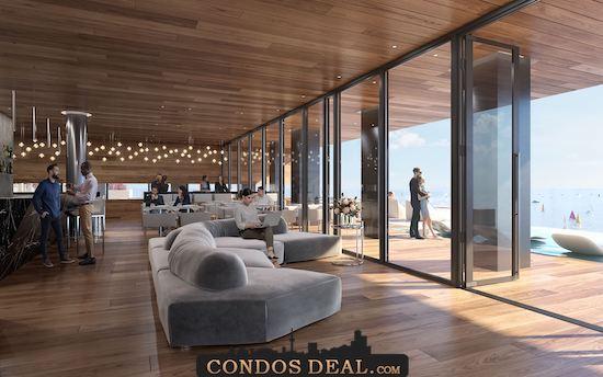 Debut Waterfront Residences Restaurant