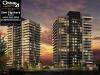 downtown-erin-mills-condos-building-rendering-night