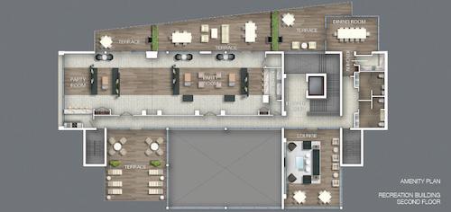 Downtown Erin Mills Condos- Amenity Plan