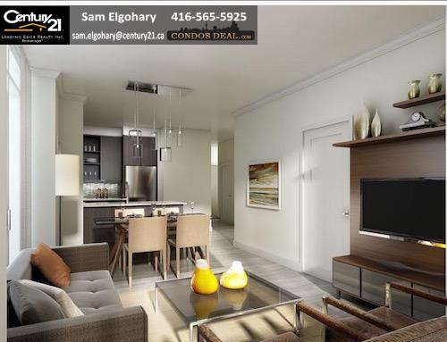 Downtown Erin Mills Condos Model Suite