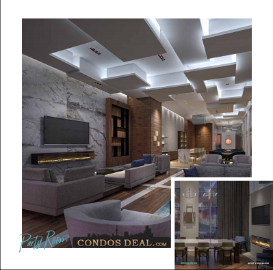 Dunwest Condos Party Room