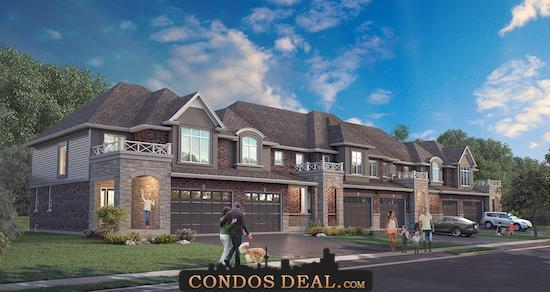 Foothills of Winona Towns & Homes Rendering 2