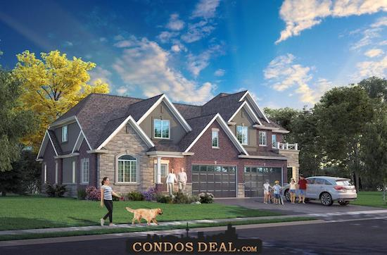 Foothills of Winona Towns & Homes Rendering 3