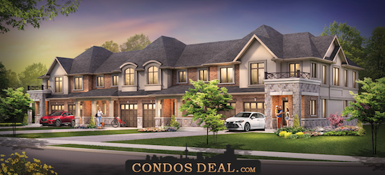 Foothills of Winona Towns & Homes Rendering