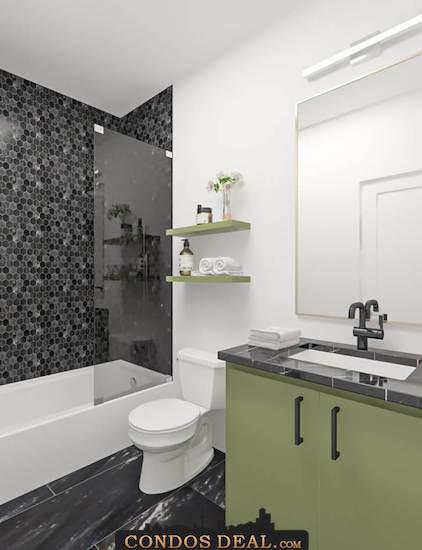 Framework Condos + Lofts Bathroom