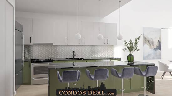 Framework Condos + Lofts Kitchen 2