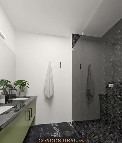 Framework Condos + Lofts Shower