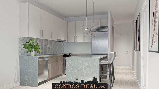 Framework Condos + Lofts kitchen