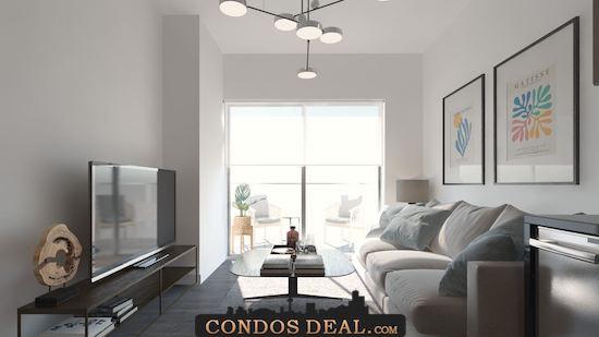 Framework Condos + Lofts livingroom