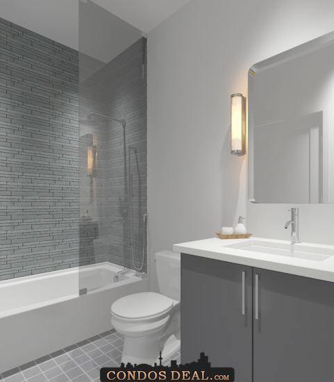 Framework Condos + Lofts washroom