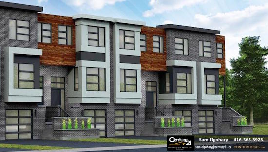 Gallery Towns Exterior Rendering