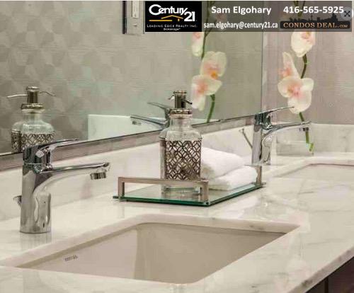 Hampton Place Condos Washroom Sink