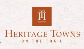 Heritage Towns on the Trail logo