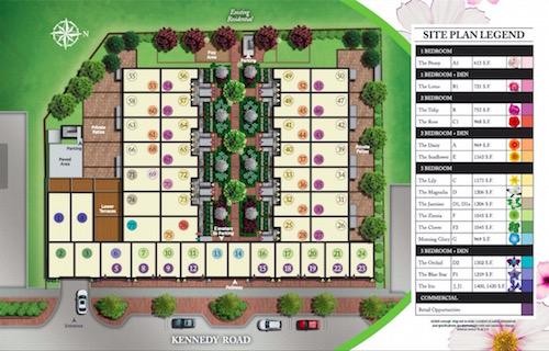 Kennedy Gardens Site plan