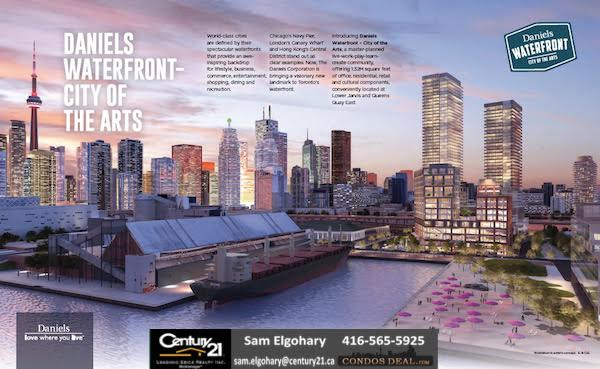 Office Condominium On the Waterfront By Daniels Toronto