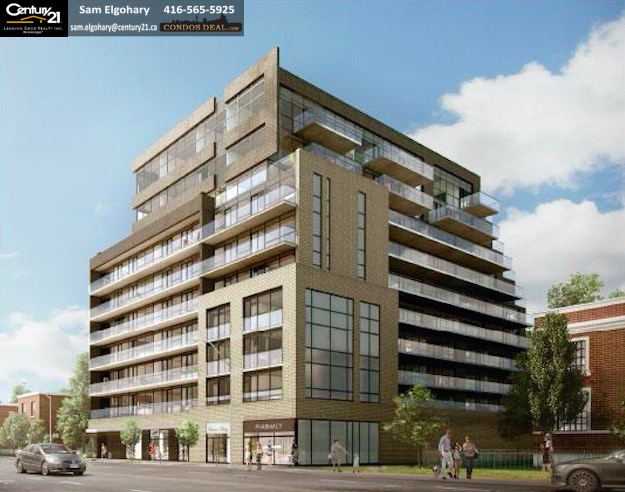 On the Danforth Condos rendering