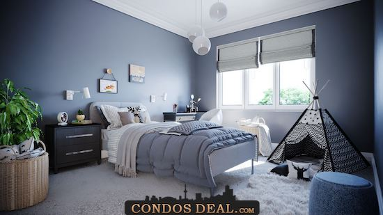 Parallel Towns bedroom